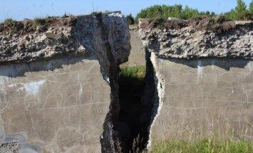Spēcīgas erozijas dēļ sabrūk Karostas forti, vēsta LNT
