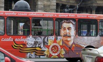 Vairāk nekā 50% krievu Staļinu vērtē pozitīvi, secināts aptaujā