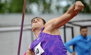 Šķēpmetējs Štrobinders sacensībās 'Rīgas kausi' izpilda olimpisko normatīvu