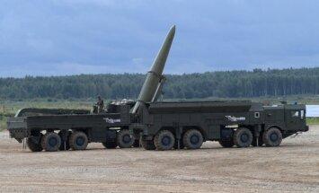 Krievija apstiprina 'Iskander' raķešu pārvietošanu uz Kaļiņingradu