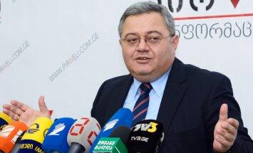 Gruzijas parlamenta priekšsēdētājs Dāvids Usupašvili