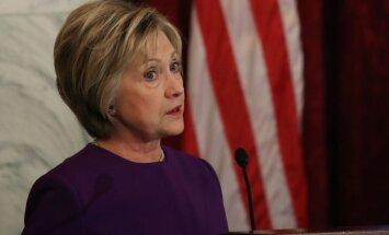 Baumo par Hilarijas Klintones iespējamu kandidēšanu uz Ņujorkas mēra amatu