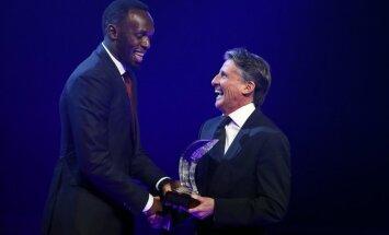 Sprinta karalis Bolts sesto reizi karjerā tiek atzīts par gada labāko vieglatlētu pasaulē