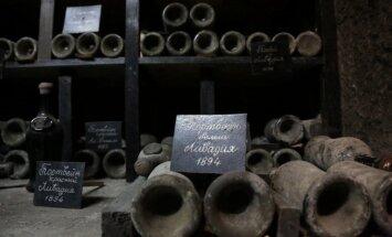Foto: Vēsturiskā Masandras vīna rūpnīca Krimā