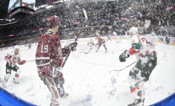 Video: Rīgas 'Dinamo' nespēj 'iekost' Austrumu konferences līderiem