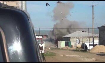 Video: Pretterorisma operācijā Dagestānā uzsprāgst māja ar kaujiniekiem