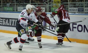 Rīgas 'Dinamo' aizvada pēdējo spēli pirms Soču olimpiskajām spēlēm