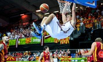 Latvijas basketbolisti pēc 12 gadu pārtraukuma iekļūst EČ otrajā kārtā
