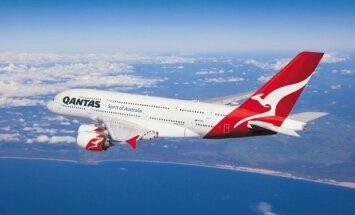 Qantas самый протяженный беспересадочный пассажирский маршрут в мире из Лондона в Австралию