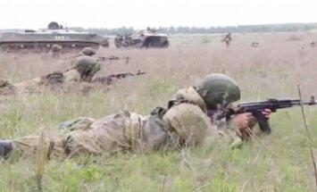 Video: Krievu desantnieki pārsteidz iedomāto pretinieku Rjazaņā