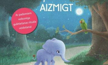 Klajā nāk psihologu un pediatru ieteikta miega grāmata mazajiem