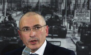 Hodorkovskis nosaucis Kadirovu par Putina 'dēlu'