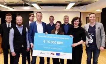 Startapiem pieejami 15 miljoni eiro ideju attīstībai