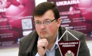 Latvijas U-21 futbola izlase spēles izskaņā zaudē Igaunijas vienaudžiem