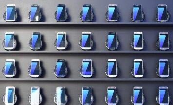 ASV atsauc vienu miljonu 'Samsung' viedtālruņu 'Galaxy Note 7'