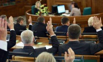 Saeimā nodibināta deputātu grupa sadarbībai ar Ukrainas parlamentu