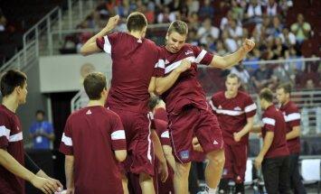 Latvijas U-18 basketbolisti Eiropas čempionāta mačā par trešo vietu Rīgā spēkosies ar Spāniju