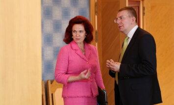 Ринкевич с Аболтиней обсудил возможности вернуться на дипломатическую службу