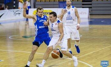 'Ogres' basketbolisti LBL mačā pieveic 'Latvijas Universitāti'