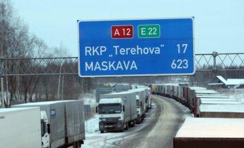Krievijai radušās pretenzijas pret Latvijas reeksportētajām sojas kravām