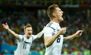 Vācija neticami mazākumā izglābjas un turpina cīņu par iekļūšanu 'play off'