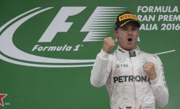 Ошибка Хэмилтона на старте и Гран-при Италии остался за Росбергом