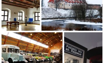 Vienas dienas maršruts Bauskā: atjaunotā pils, padomju ekspozīcija un pārsteidzošas automašīnas
