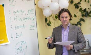Jānis Lielcepure iedvesmo jauniešus ambicioziem plāniem