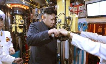 Ziemeļkoreja: raķešu izmēģinājumi bija kodoltriecienu imitācija