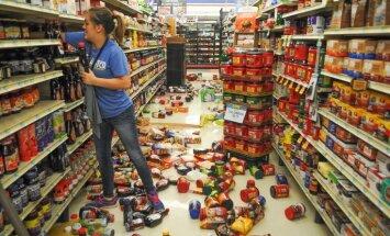 Foto: ASV centrālo daļu padrebina zemestrīce