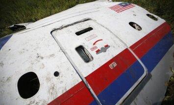 Ukrainā notriektā 'Boeing' fragments nonācis Krievijas pilsētā Jeiskā