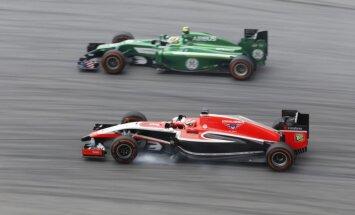 'Caterham' un 'Marussia' komandas pieteikušās startēt 2015.gada F-1 čempionātā