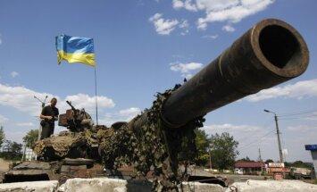 Ukraina kaujās pie Ilovajskas zaudējusi militāro tehniku 12,3 miljonu eiro vērtībā