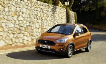 Modernizētais 'Ford Ka' ieguvis arī paaugstinātās pārgājības versiju