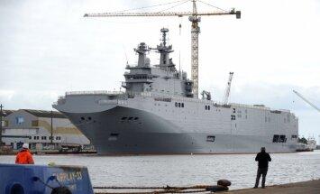 ASV kongresmeņi ierosina NATO pārpirkt Krievijai paredzētos desanta kuģus