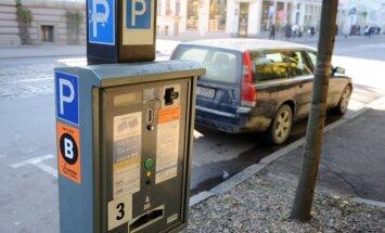 В Риге станет меньше бесплатных парковок