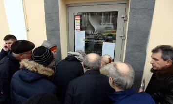 Krievijas Centrālā banka pārtrauc vairāku Ukrainas banku darbu Krimā