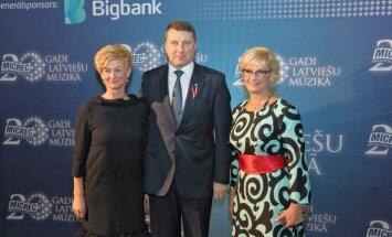 Foto: Latvijas mūzikas gardēži bauda 'MicRec' jubilejas koncertu