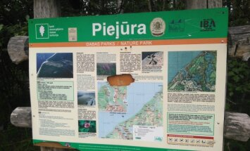 Par miljonu eiro atjaunos dabas parku 'Piejūra' Carnikavā
