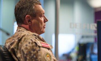 Krievijas armijas aktivitāte eskalējusies; sakaru pārrāvumi bija elektroniskā karadarbība