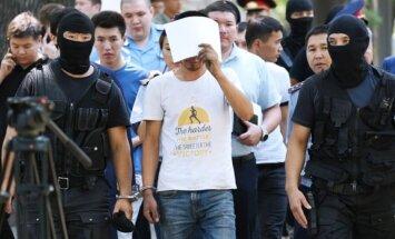 Aizturēti abi kazahu olimpiskā daiļslidotāja Denisa Tena slepkavas
