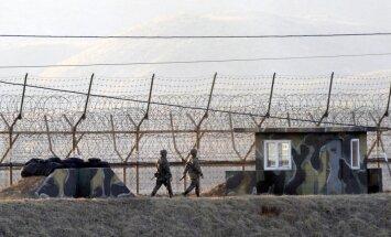 Dienvidkorejas prezidents Muns: kara Korejas pussalā nebūs