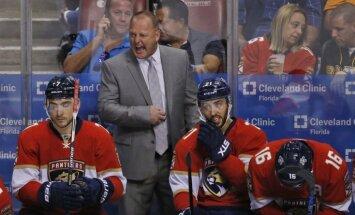 Floridas 'Panthers' atlaiž galveno treneri Galantu