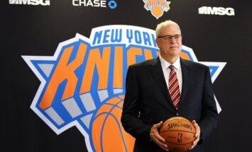 Fils Džeksons kārtējo reizi norāda uz Entonija nesaderību ar 'Knicks' komandu