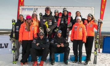 Trijiem Latvijas kalnu slēpotājiem kāpums FIS rangā