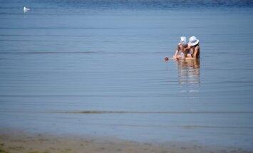 Latgalē ūdens temperatūra Daugavā sasniegusi +28,4 grādus