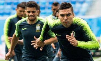 Pasaules kausa 9. diena: Brazīlija dodas cīņā par pirmo uzvaru, D grupa noslēdz otro kārtu