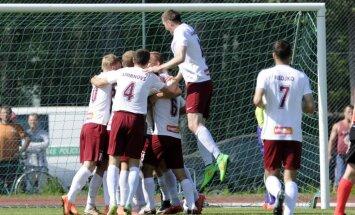 'Ventspils' uzvar Daugavpilī un 'Spartaks' zaudē 'Jelgavai'