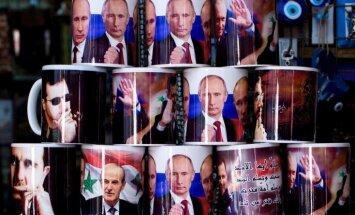 Apšauda Krievijas vēstniecību Damaskā