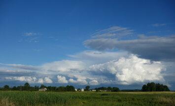 Во вторник будет облачно, возможны кратковременные дожди